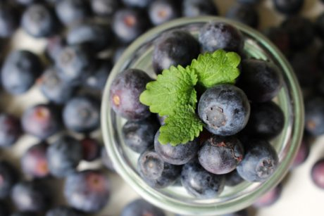 food, antioxidant, fruit, blueberry, berry, indoor, glass