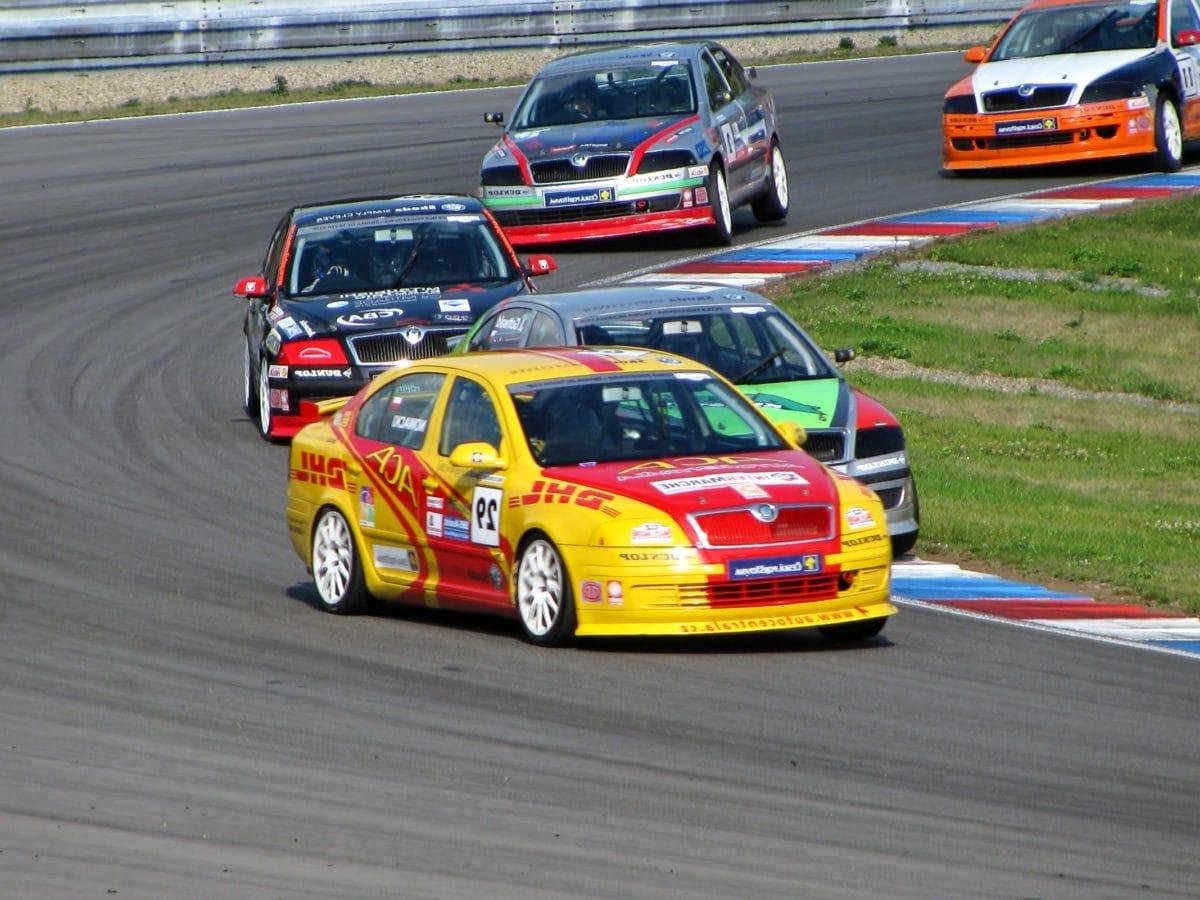 Авто Спорт, быстро, автомобиль, автомобиль, гонка, цепь, водитель, привод, конкуренция