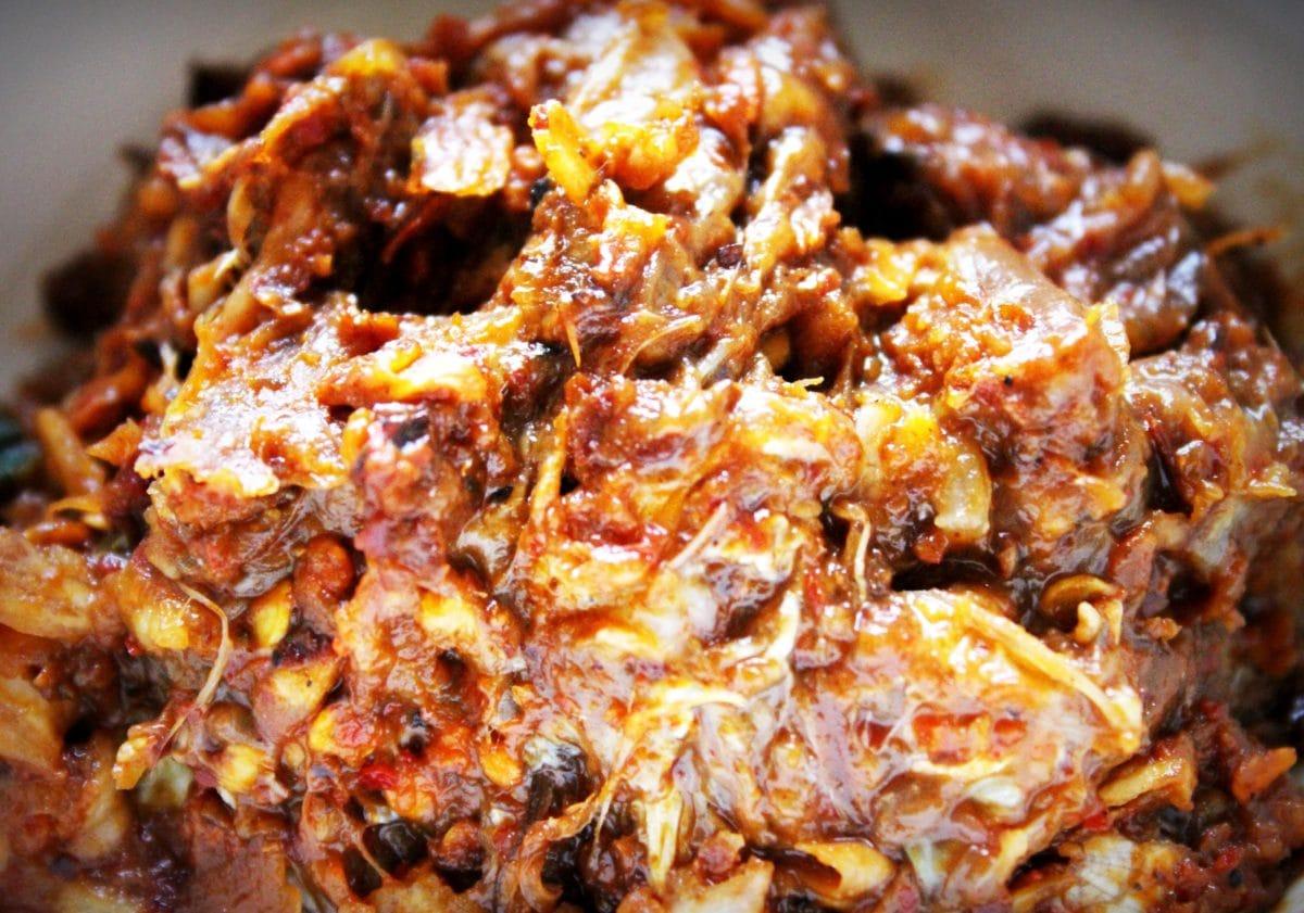 astia, ruoka, kastike, liha, ateria, sian liha, päivällinen, lounas