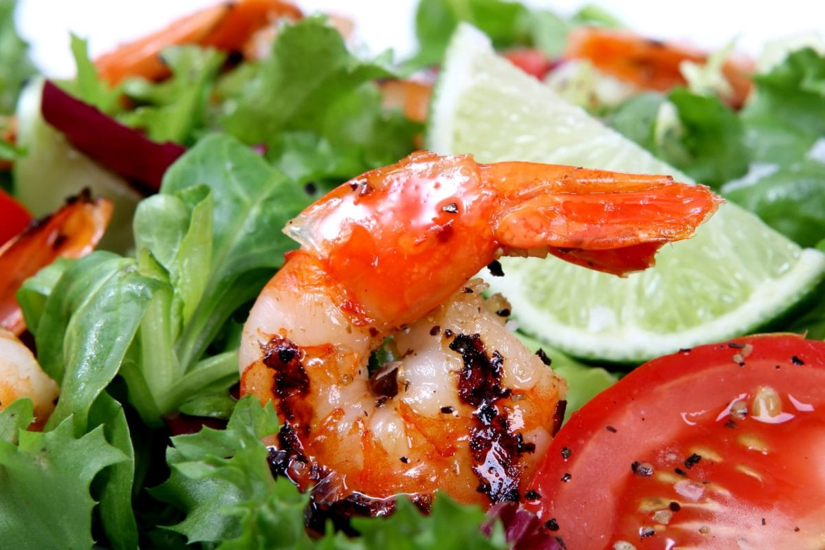 salad, delicious, seafood, dinner, meal, lettuce, lunch, food