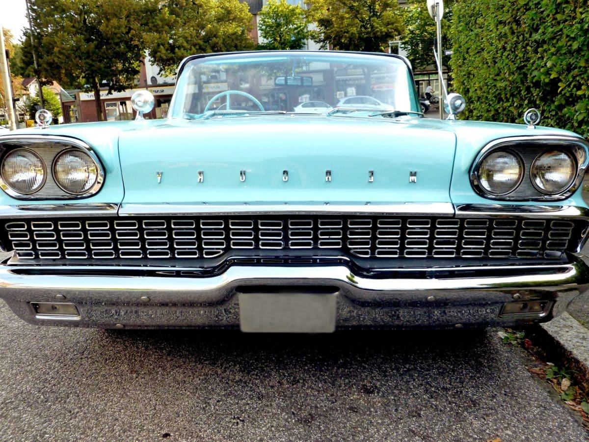 krom, klasični automobil, Far, vozilo, pogon, auto Bumber, auto, automobil