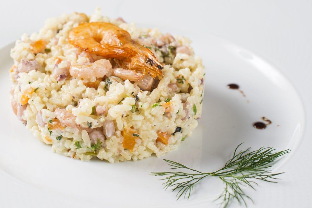 Večeře, chutné, jídlo, rýže, jídlo, oběd, rizoto