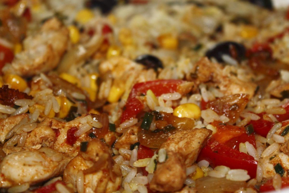 ผัก, อาหารเย็น, ข้าว, อาหารกลางวัน, อาหาร, เนื้อ, อร่อย