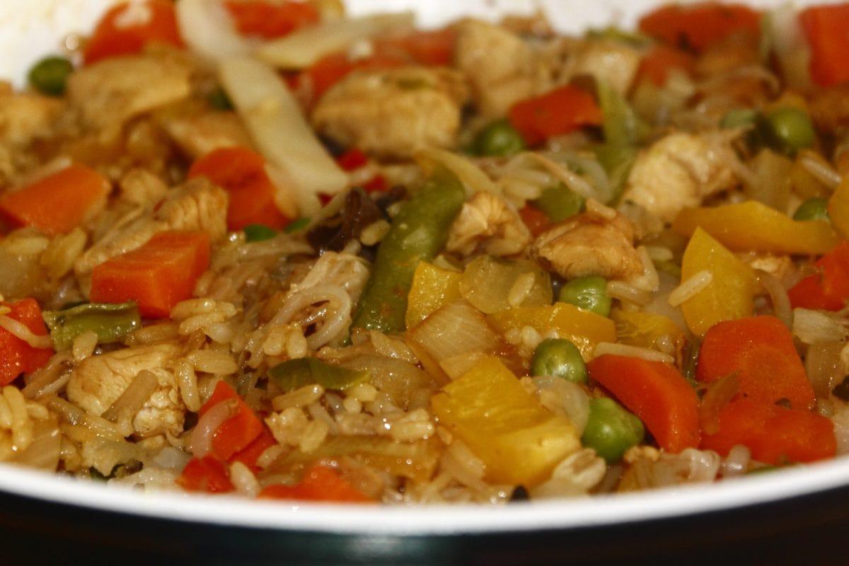 식사, 음식, 저녁 식사, 맛 있는, 야채, 점심, 쌀, 요리