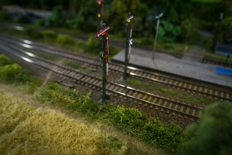railway, toys, object, locomotive, transport, semaphoregrass, outdoor