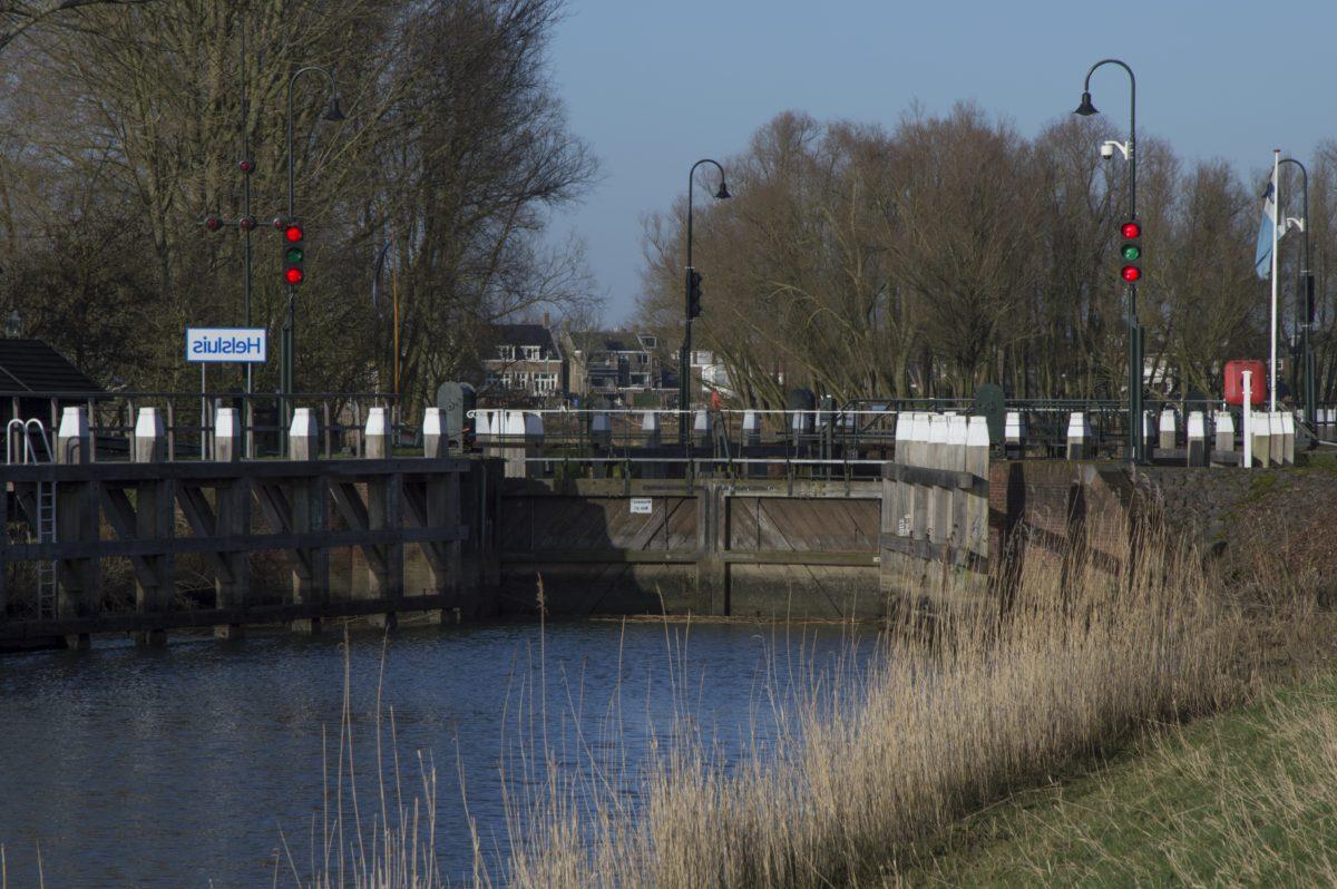 musim dingin, air, sungai, refleksi, jembatan, hujan, kanal, banjir