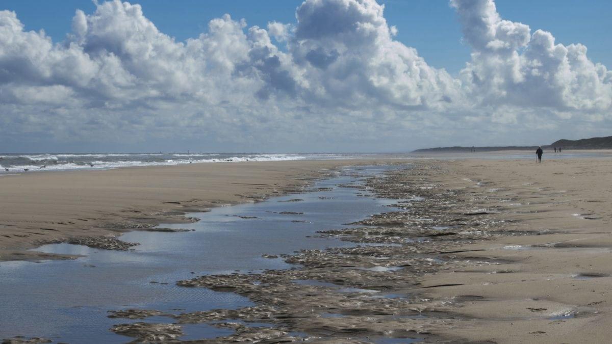 beach, sea, sand, water, ocean, cloud, seaside, blue sky, landscape, wave
