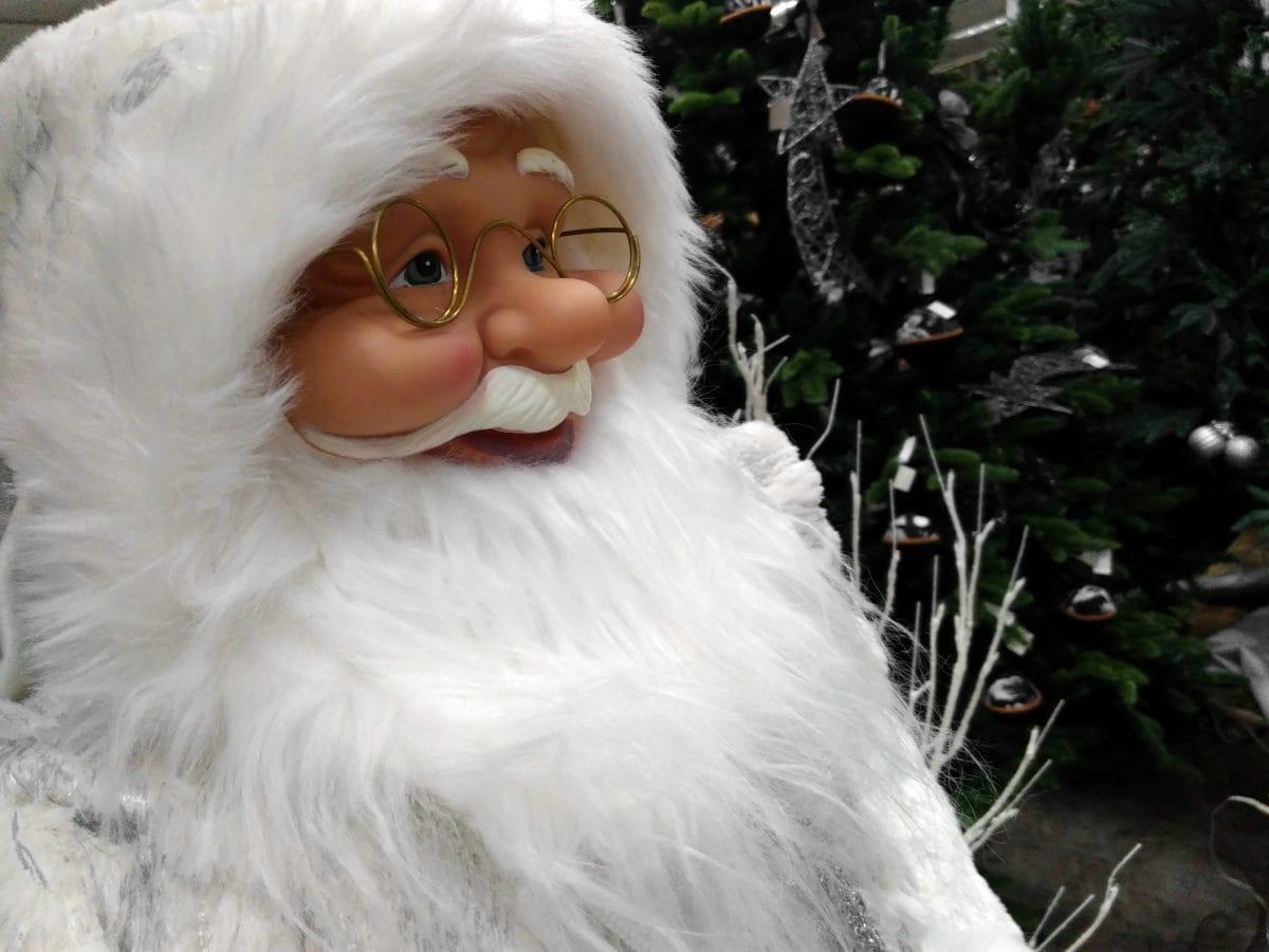 Giáng sinh, Santa Claus, chân dung, đồ chơi, đối tượng, mặt, dễ thương, ngoài trời