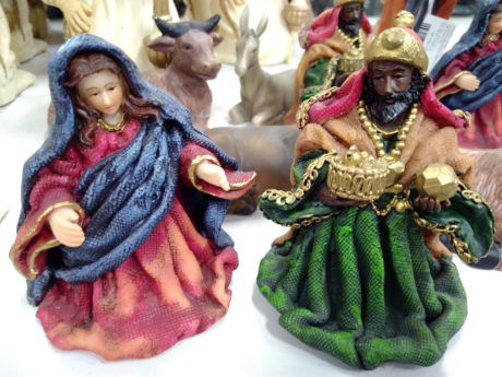 toy, figurine, object, Christmas, religion, costume, mask