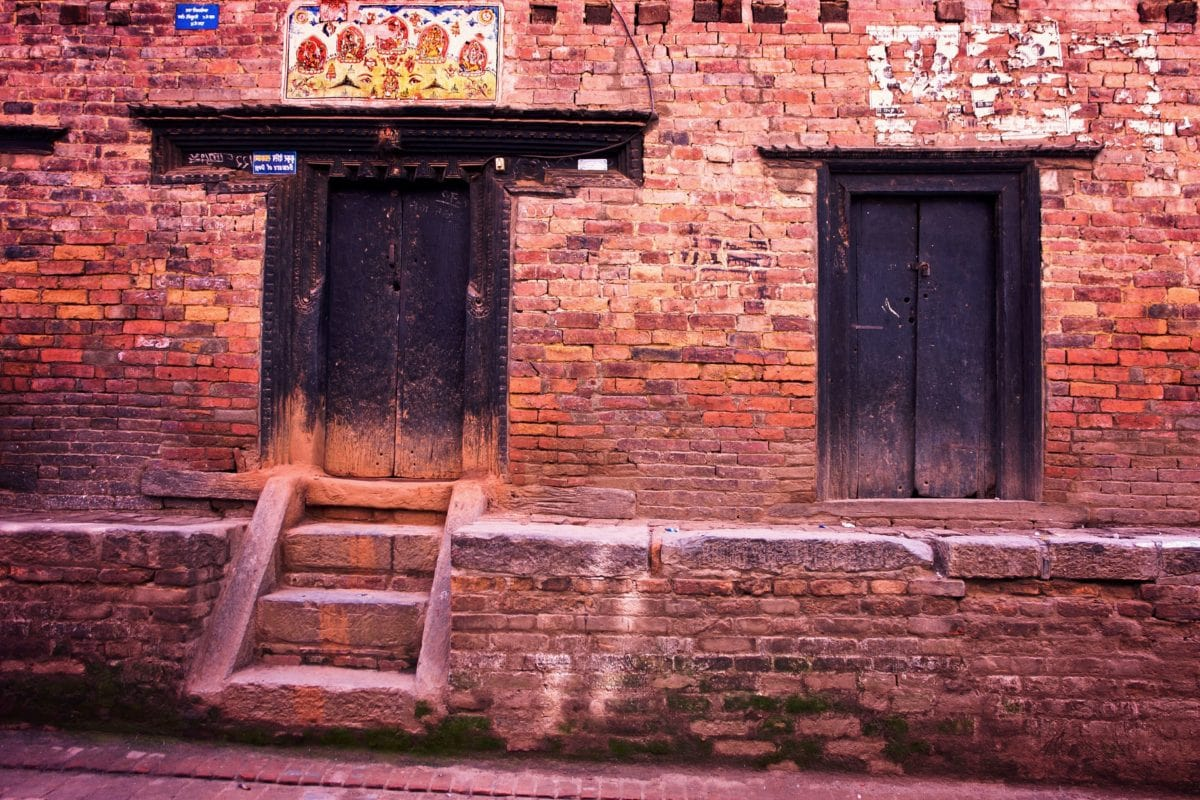 wall, old, wood, wooden, house, architecture, door, brick