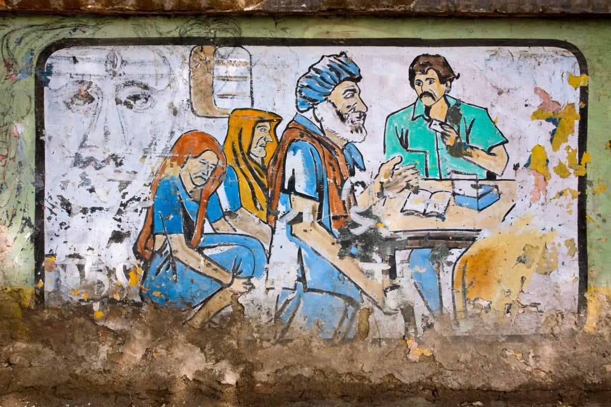 urban, illustration, wall, people, art, culture, graphite, texture