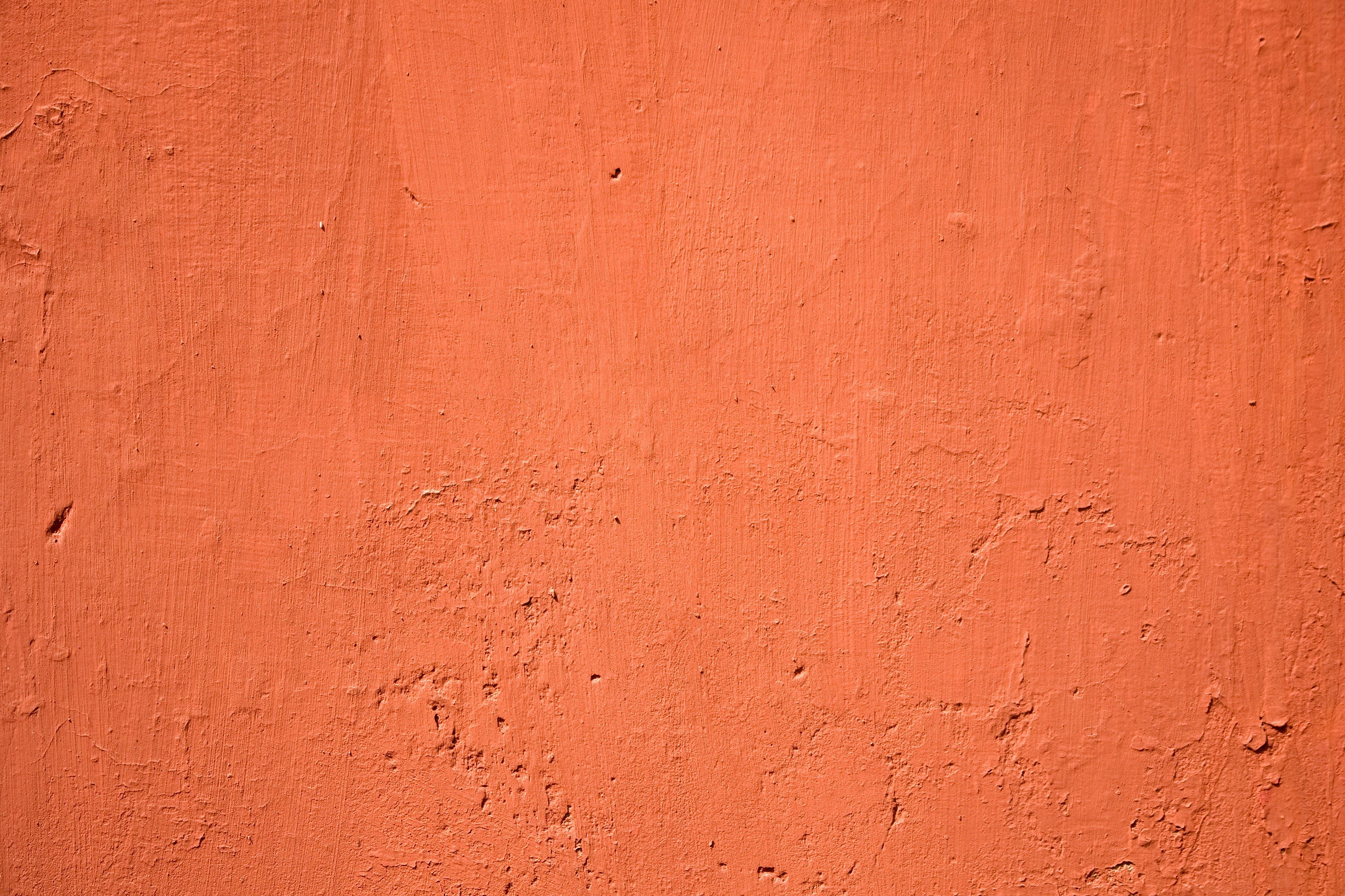 Retro Abstract Old Pattern Texture Cement Red Wall