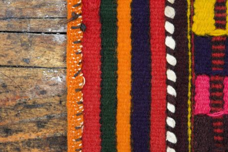 rug, wood, wool, material, colorful, texture, fabric