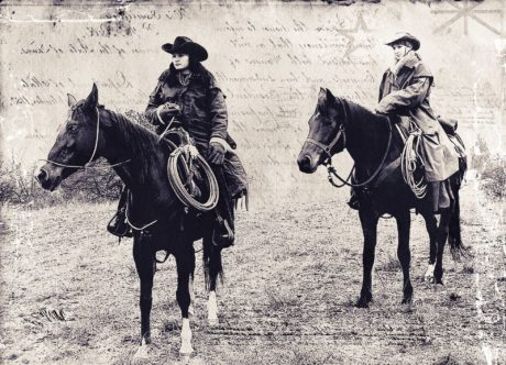 animal, people, cavalry, horse, saddle, history, monochrome, sepia, cowboy, woman
