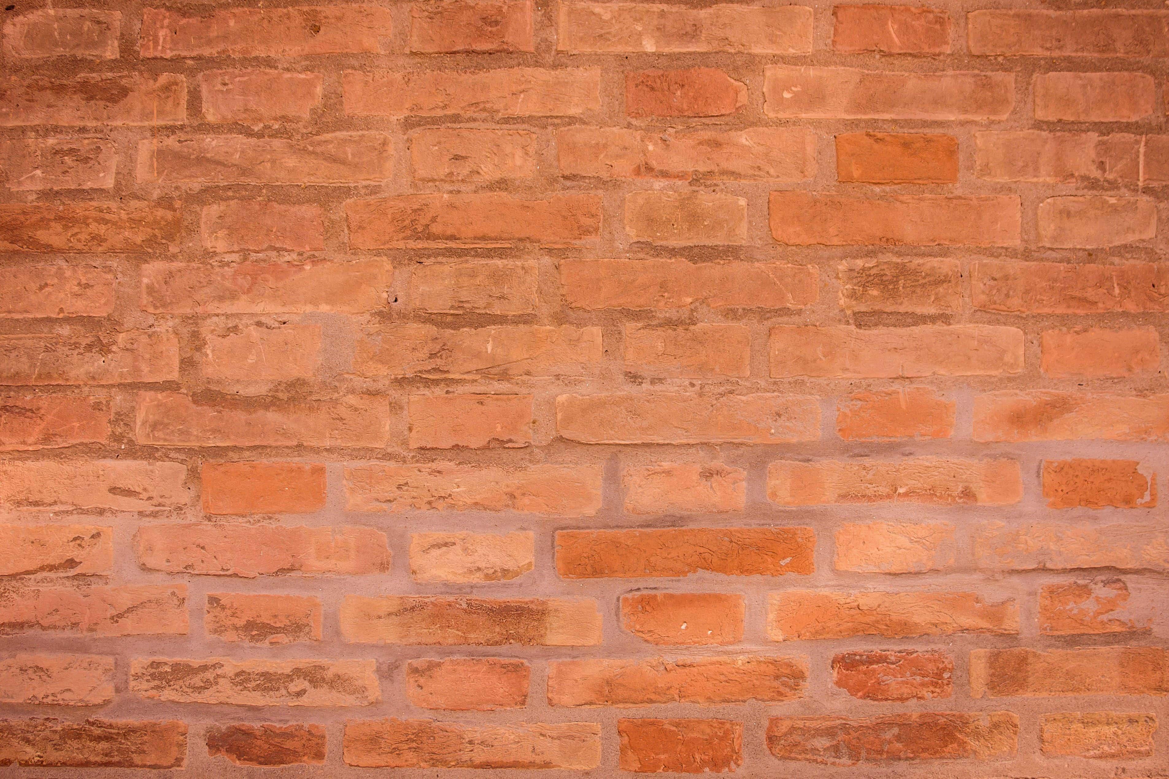 Mur En Brique Rouge image libre: mur de briques, solide, pierre, ciment, vieux