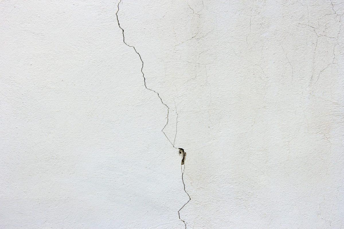 Beton, Textur, Wand, Riss, Weiß, Wand, Konstruktion