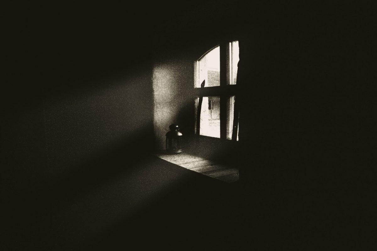 shadow, window, darkness, monochrome, window, house, antique