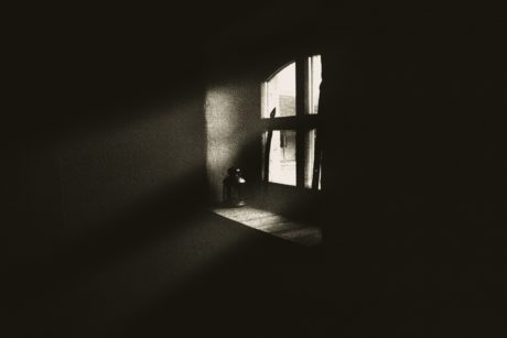 shadow, window, darkness, monochrome, window, house, antique