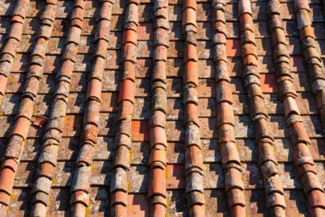 texture, old, architecture, rooftop, tile, roof, material