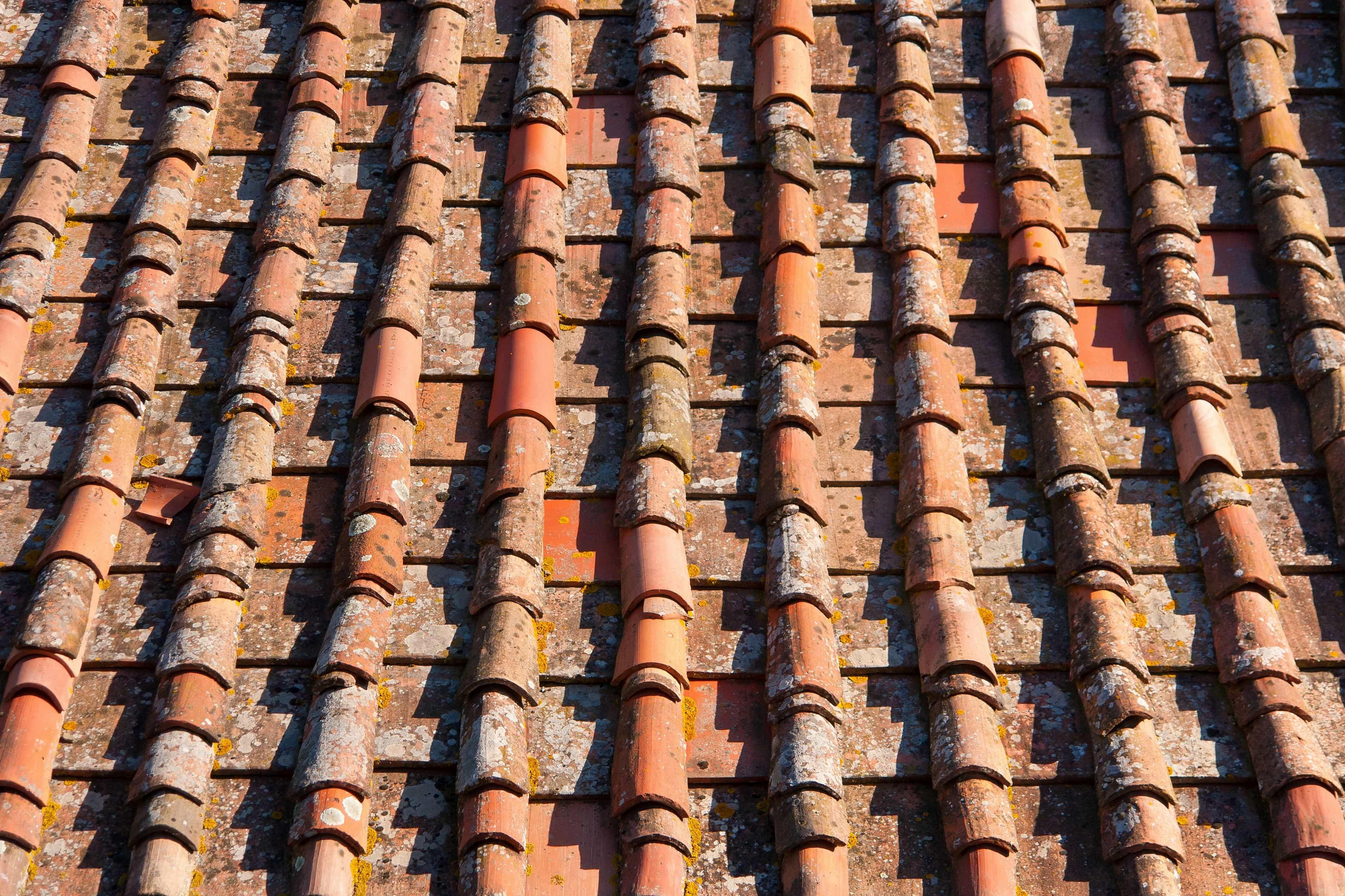 Kostenlose Bild Textur Alt Architektur Dach Fliese Dach Material