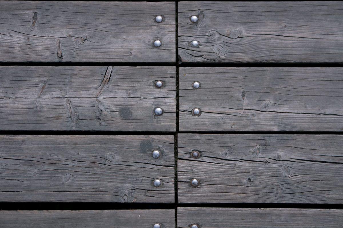 construction, dark wood, floor, metal, material, wall, surface, texture