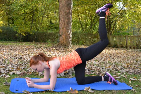 pretty girl, physical activity, yoga, fitness, gorgeous, equipment, tree