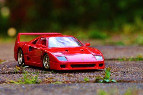 veicolo, automobile del giocattolo, auto, automobile, trasporto, asfalto, velocità, azionamento