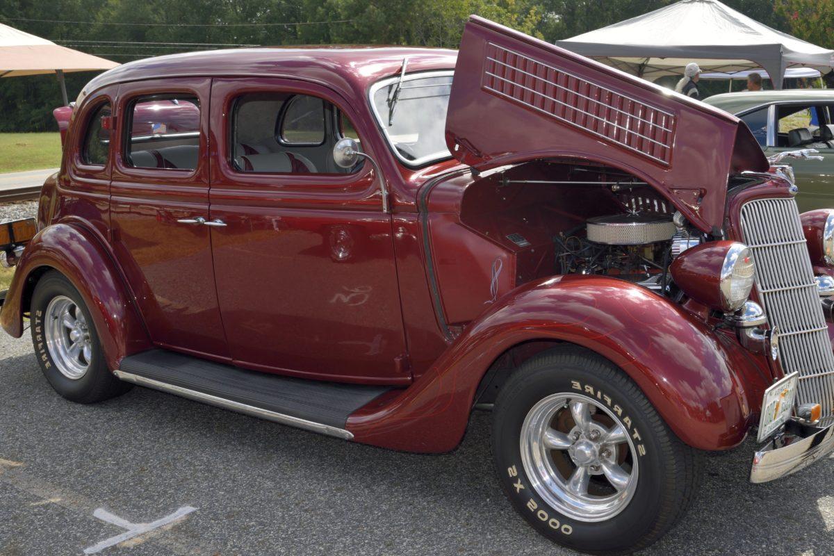 bilutställning, fordon, gammal bil, hjul, retro, Automobile, transport