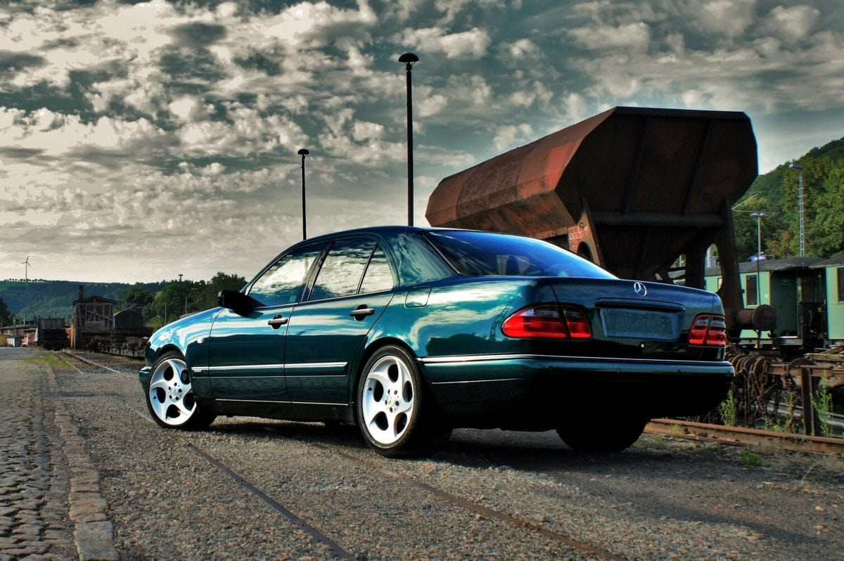 green vehicle, car, auto, transportation, automobile, speed, coupe