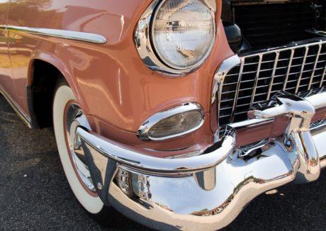 drive, klassisk bil, forlygte, Oldtimer bil, kofanger, køretøj, krom, automobil
