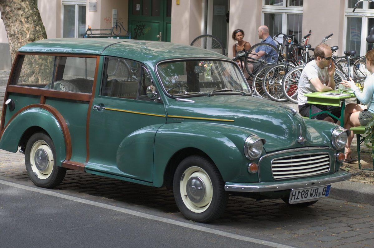 автомобил, Oldtimer кола, зелен автомобил, транспорт, транспорт, улица
