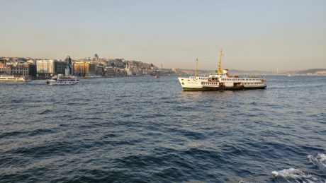 Istanbul, schip, watercraft, haven, veerboot, water, zee, Tugboat, Oceaan