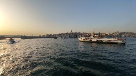cruiseschip, Istanbul, haven, watercraft, zee, water, voertuig, boot, Oceaan