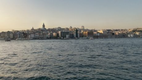 Istanbul, architecture, sea, watercraft, Turkey country, cityscape, water, city