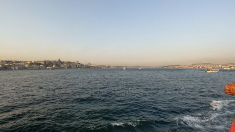 sea, water, ocean, coast, shore, blue sky, landscape, travel, Istanbul, outdoor