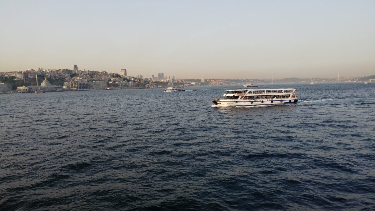 boot, watercraft, zee, schip, water, voertuig, Istanbul, Oceaan, haven