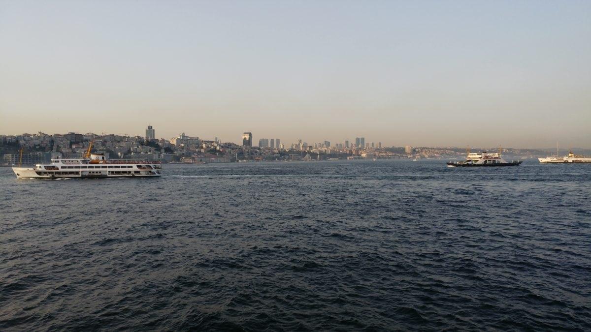 vehicle, water, watercraft, sea, harbor, cruise ship, city, ferry, urban area