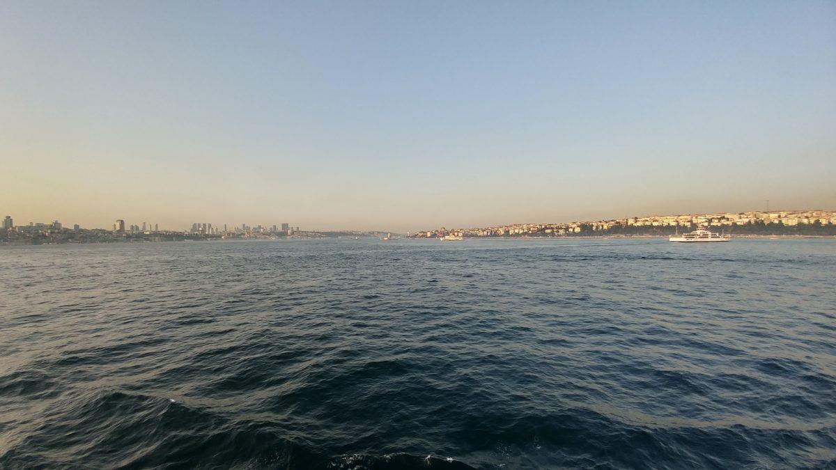 sea, sunset, town, Istanbul, ocean, water, Turkey country, beach, shore, landscape, sky, coast