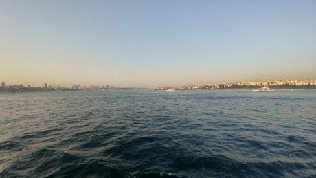 sea, sunset, town, Istanbul, ocean, water, Turkey country, beach, shore, landscape, sky, coast