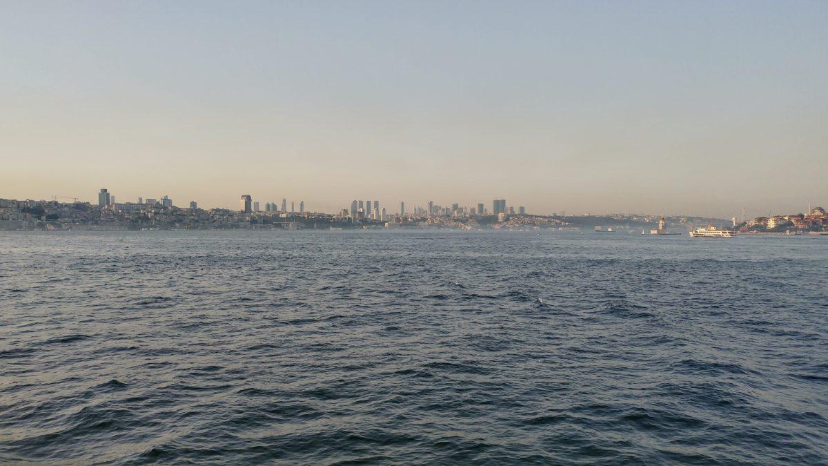 ship, watercraft, water, city, Istanbul, sea, ocean, sky, outdoor