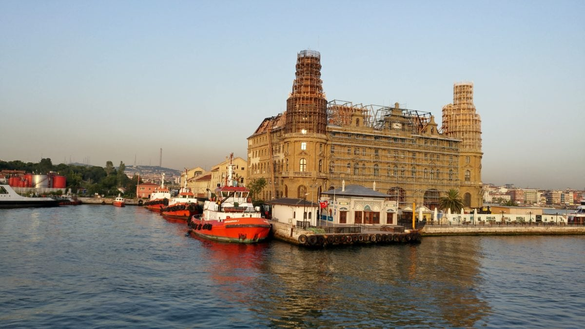 tourist attraction, architecture, Istanbul, travel, water, waterfront, city, boat, ship