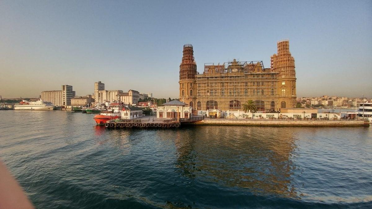 arquitectura, Turquía país, ciudad, agua, Waterfront, Estambul, atracción turística, urbano, Landmark