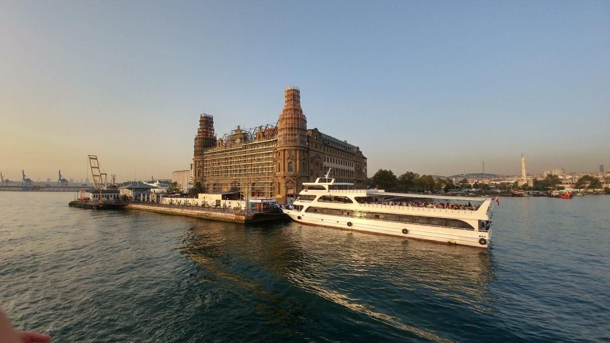 water, landmark, Istanbul, watercraft, waterfront, ship, city, architecture, river