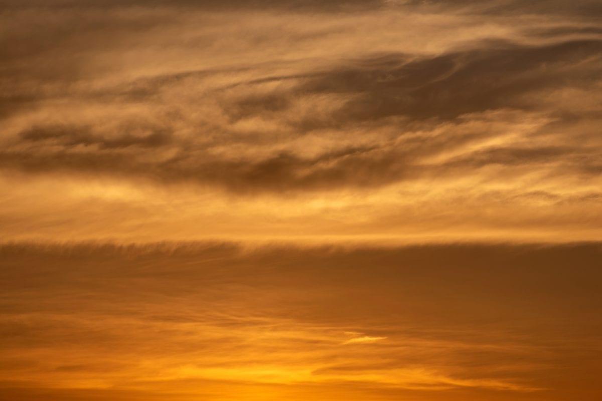 nebo, sunce, zalazak sunca, priroda, atmosfera, oblak, krajolik, oblačno