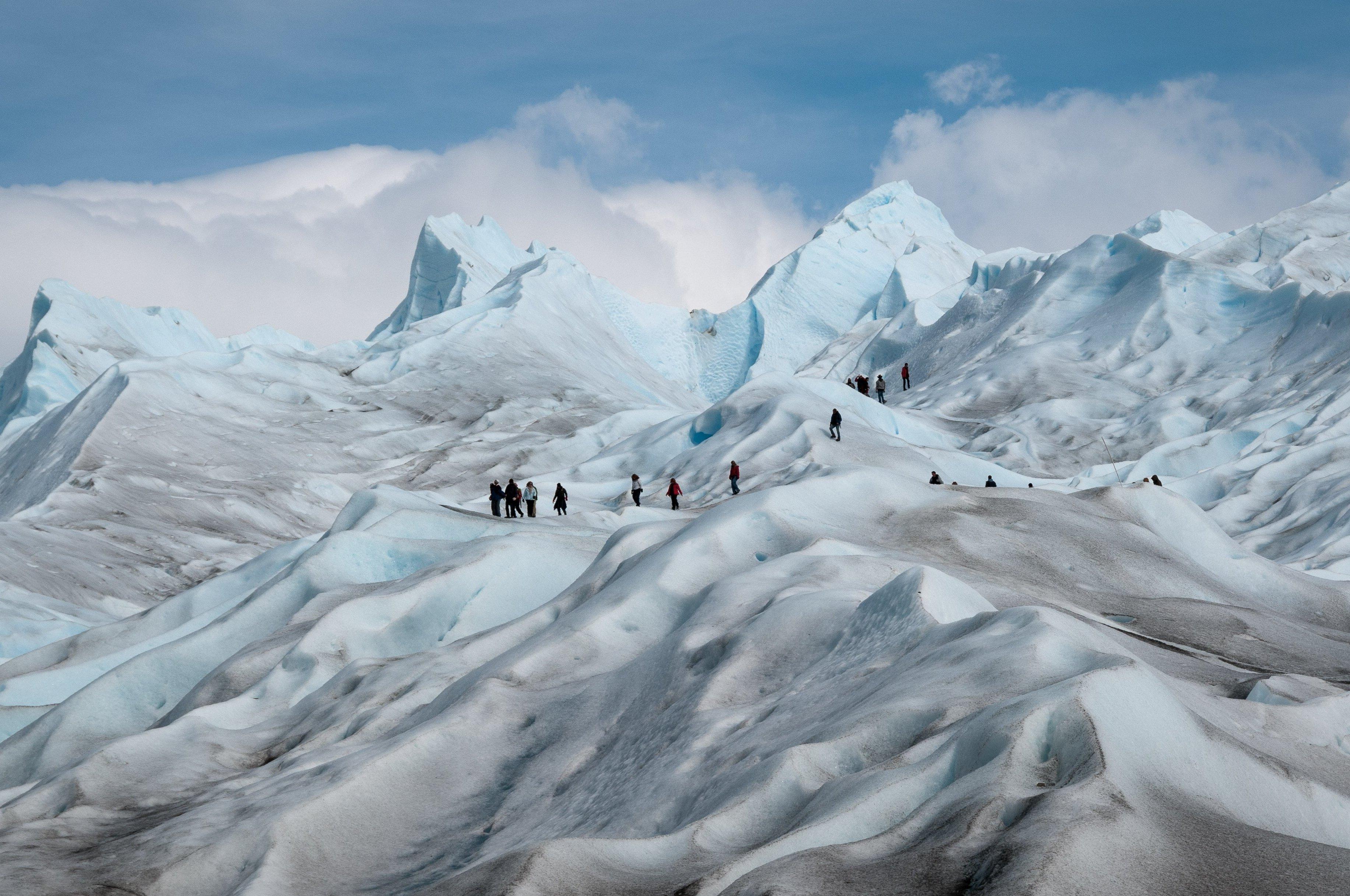 Free picture: glacier, winter, ice, mountain, cold, snow