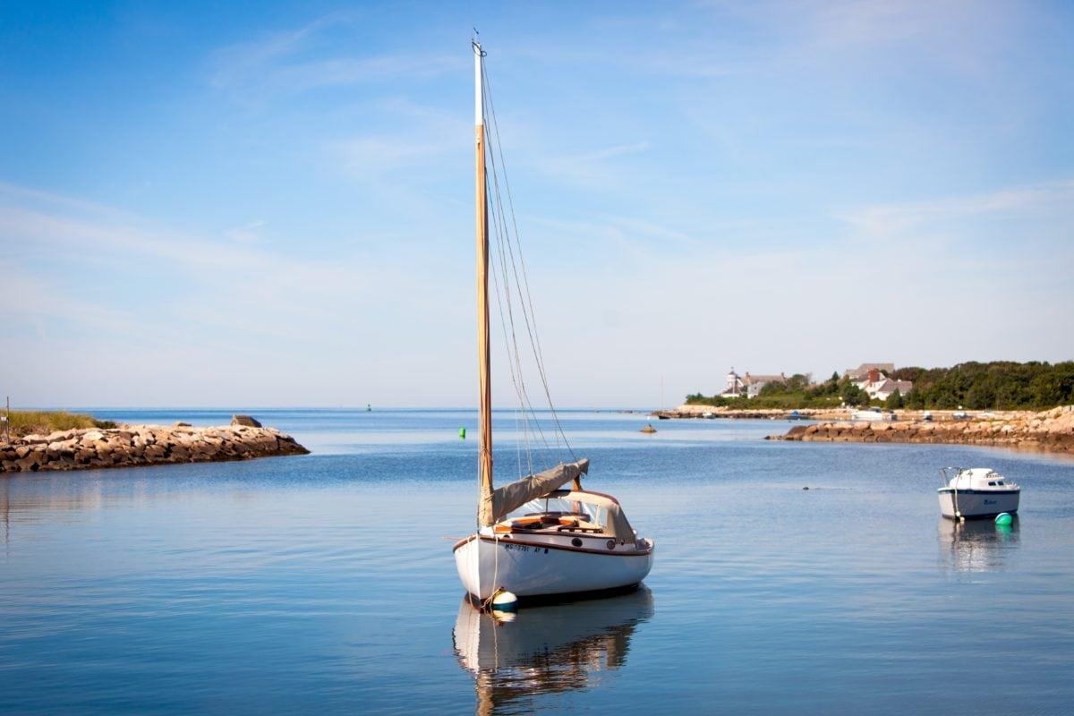 watercraft, water, sea, seashore, sailboat, boat, ocean, catamaran