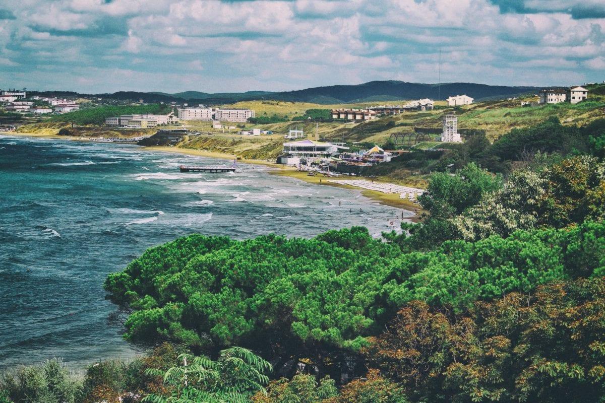 strand, víz, tengerpart, tengerpart, tenger, sziget, természet, táj, óceán