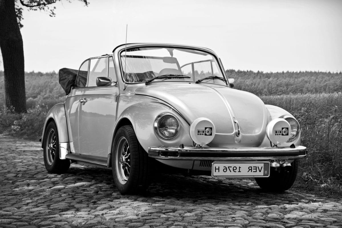 coche clásico, impulsión, rueda, vehículo, monocromo, convertible, automóvil