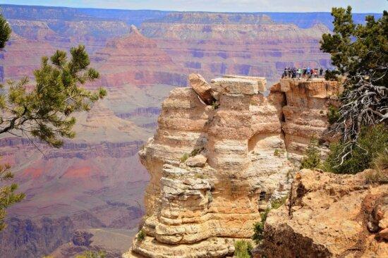 Canyon, désert, grès, paysage, géologie, nature, érosion