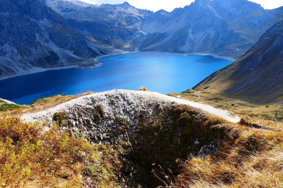 landscape, mountain, nature, blue sky, water, glacier, snow, ice